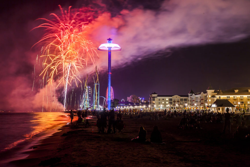 Light up the Point:  courtesy of Cedar Point