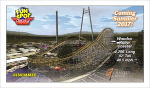 Gravity Group to add coaster to Fun Spot America