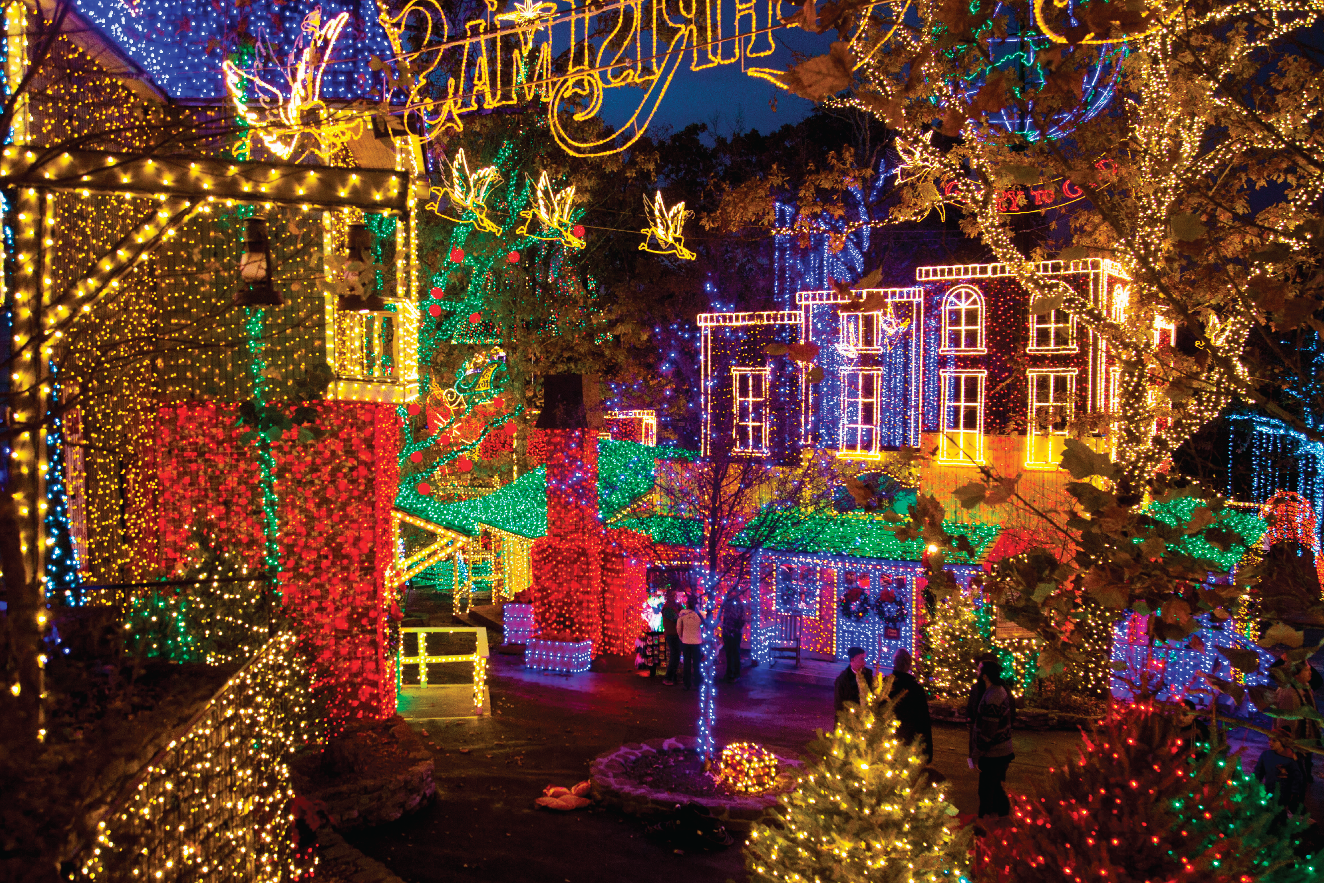 Silver Dollar City Christmas.Silver Dollar City Wins 1 Spot Best Theme Park Holiday